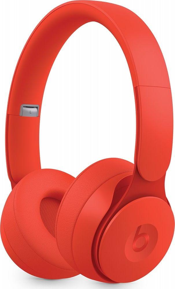 Beats Solo Pro bezdrátová sluchátka, červená