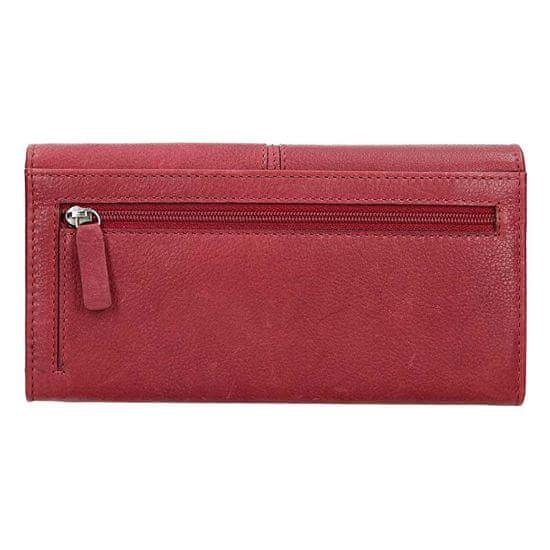 Lagen Dámská kožená peněženka 51454 Red