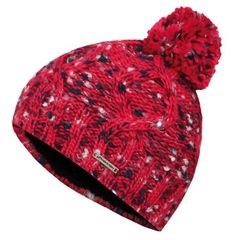 Hannah Lanies Jr otroška kapa, univerzalna velikost, rdeča