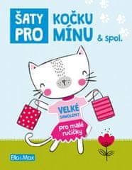 Šaty pro Kočku Mínu - Kniha samolepek
