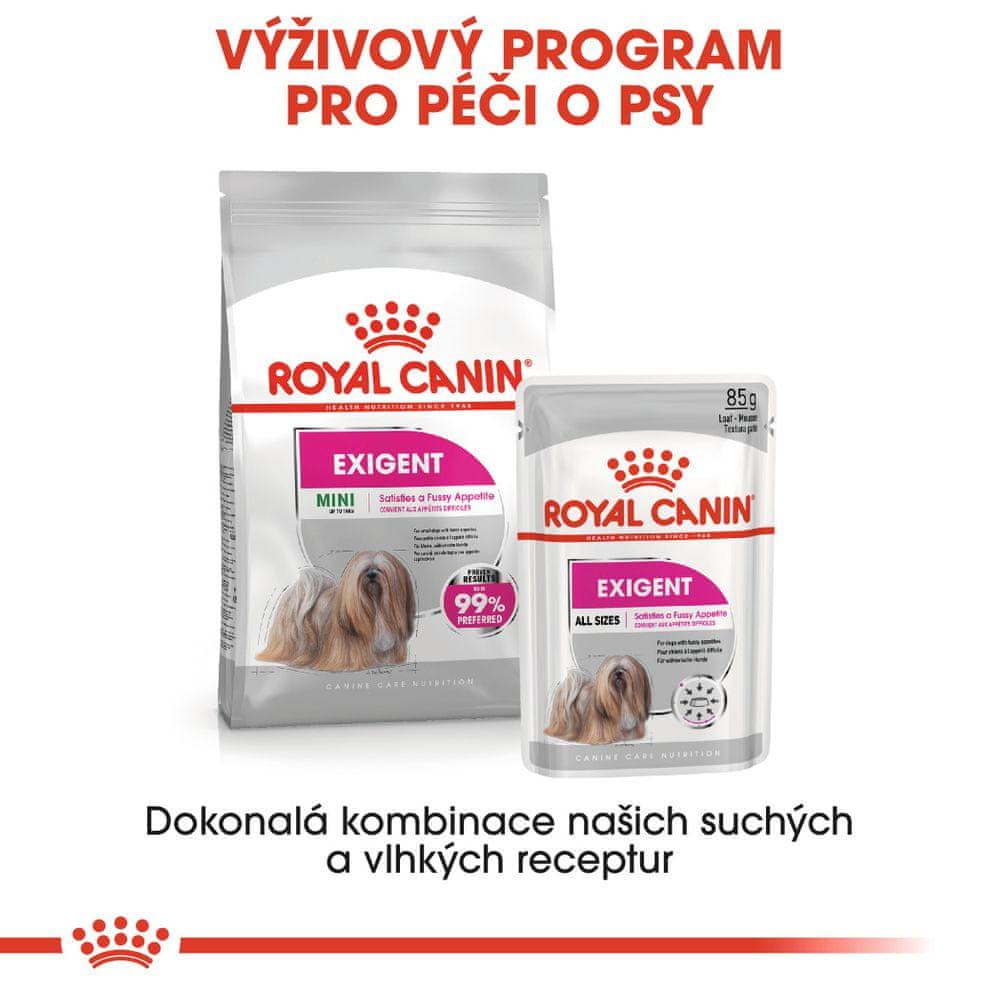 Royal Canin Exigent Dog Loaf 12x85 g