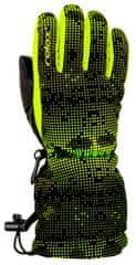 Relax otroške smučarske rokavice , 14, črne/rumene