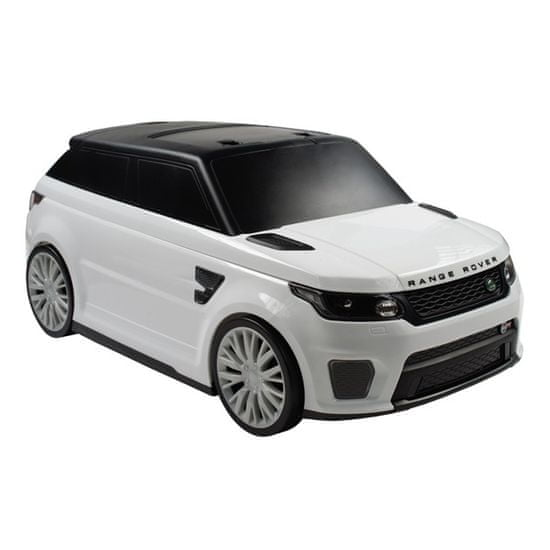BAYO Detské odrážadlo a kufrík 2v1 Range Rover SVR white Biela
