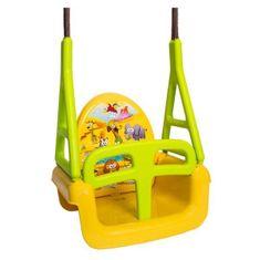 Tega Detská hojdačka 3v1 safari Swing yellow Žltá