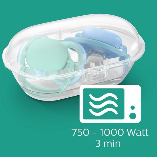 Philips Avent mellbimbó alakú cumi Ultra air 18+ hónap
