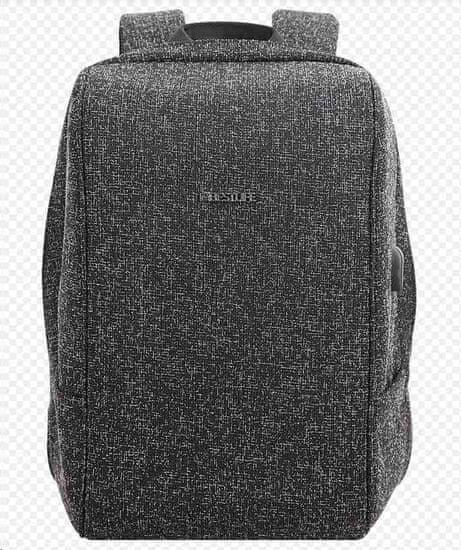 BESTLIFE Batoh Travel Safe na 15,6″ notebook BL-BB-3456BK, černý