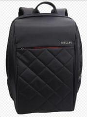 BESTLIFE potovalni nahrbtnik Travel Safe BL-BB-3456BK-2 15,6″/39,62 cm predel za prenosnik, črn/rdeč