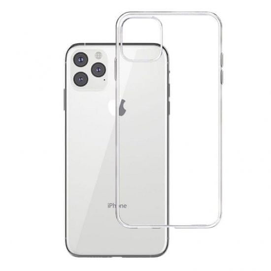 Ovitek za iPhone Pro Max, prozoren, silikonski, ultra tanek