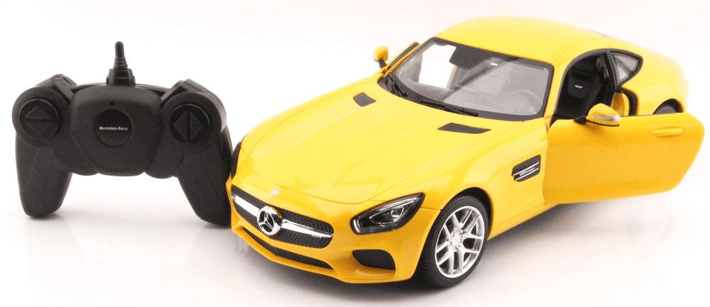 Mondo Motors Mercedes AMG GT open door žlutá