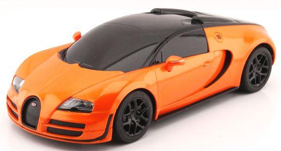 Mondo Motors model Bugatti Grand sport Vitese 1:18, pomarańczowy