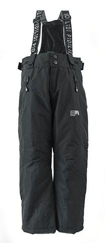 PIDILIDI dětské kalhoty zimní lyžařské 134 černá