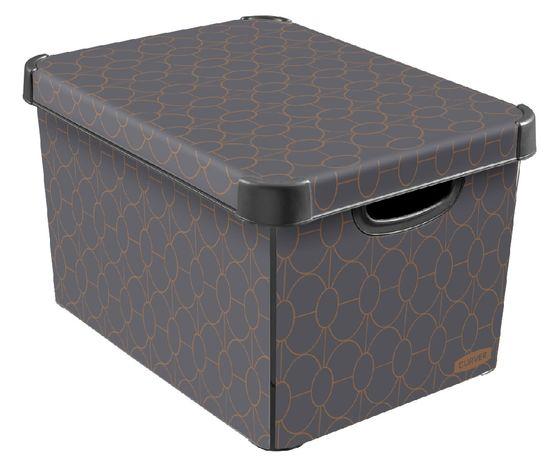 CURVER pudełko L Art Deco