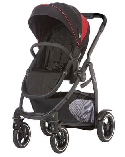 Graco Evo XT 2019 black red + Evo Luxury Carrycot black grey S
