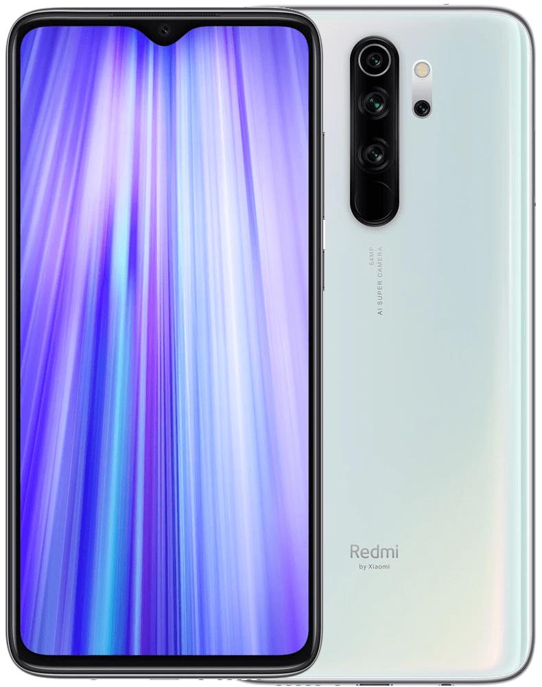 Xiaomi Redmi Note 8 Pro, 6GB/128GB, Global Version, White