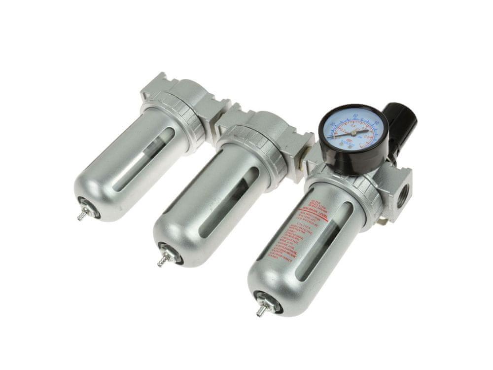 GEKO Regulátor tlaku s filtrem a manometrem, max. prac. tlak 1,0MPa