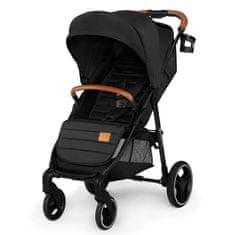 KinderKraft wózek dziecięcy GRANDE black 2020
