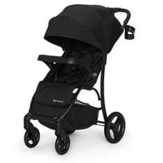 KinderKraft otroški voziček Cruiser, črn - Odprta embalaža