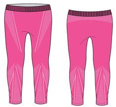 R2 dekliške dolge funkcionalne hlače, 6-10Y, roza