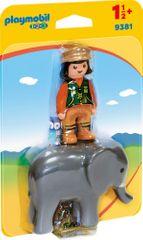 Playmobil Oskrbnik živalskega vrta s slonom (9381)