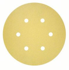 BOSCH Professional C450 brusilni list, večnamenski, G240, 150 mm, 6 lukenj (2608621728)