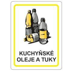 vybaveniprouklid.cz Samolepka kuchynské oleja a tuky 120x160 mm