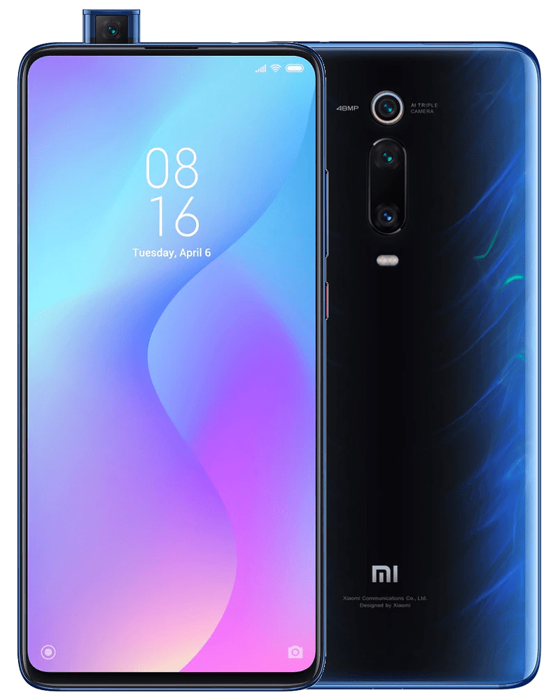 Xiaomi Mi 9T Pro, 6GB/128GB, Global Version, Glacier Blue
