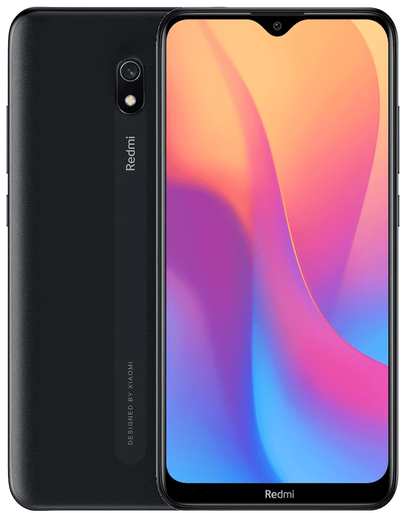 Xiaomi Redmi 8A, 2GB/32GB, Global Version, Midnight Black