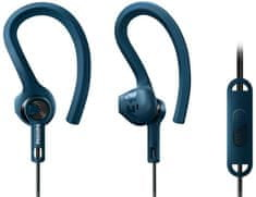 Philips słuchawki z mikrofonem SHQ1405, niebieskie
