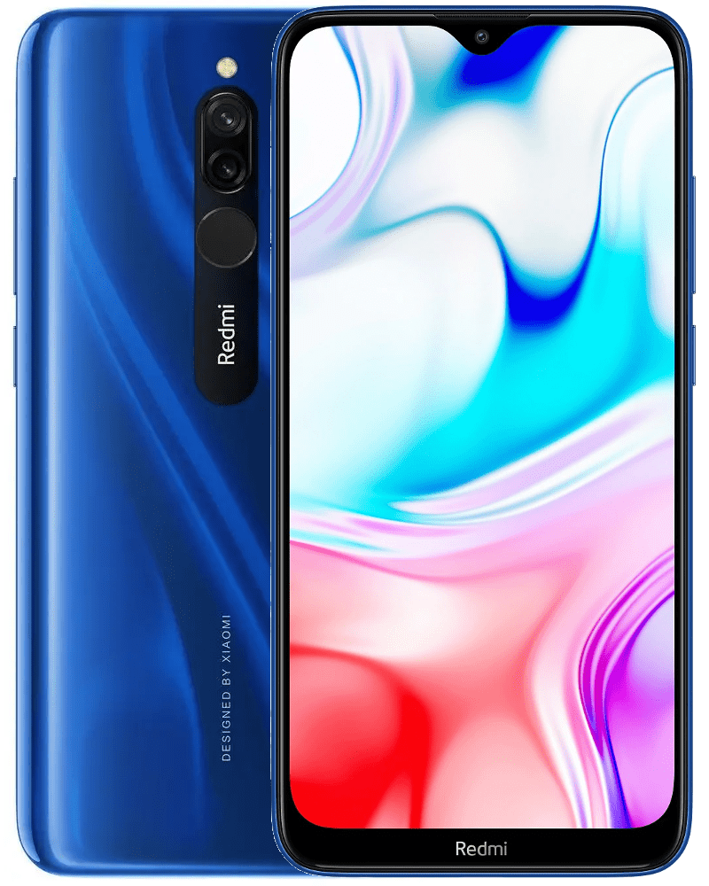 Xiaomi Redmi 8, 4GB/64GB, Global Version, Sapphire Blue