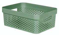 CURVER pudełko INFINITY 11 l recyklingowane tworzywo sztuczne zielone