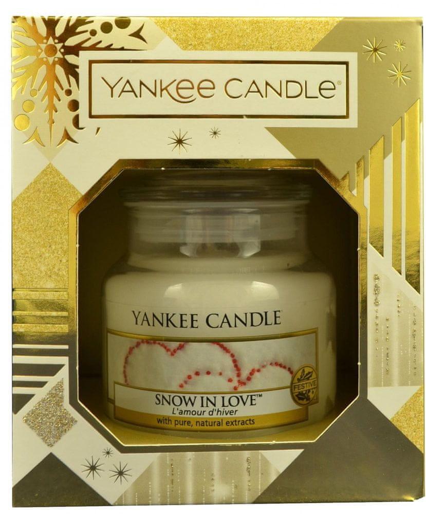Yankee Candle Classic malý 104 g Snow In Love - dárkové balení