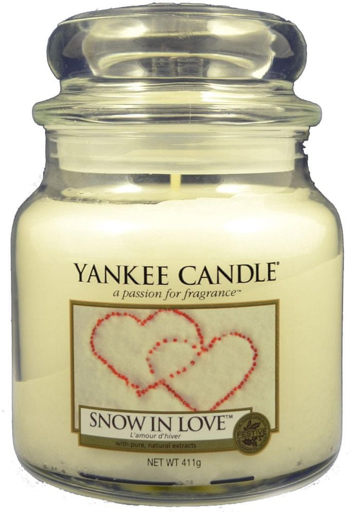 Yankee Candle Classic střední 411 g Snow In Love