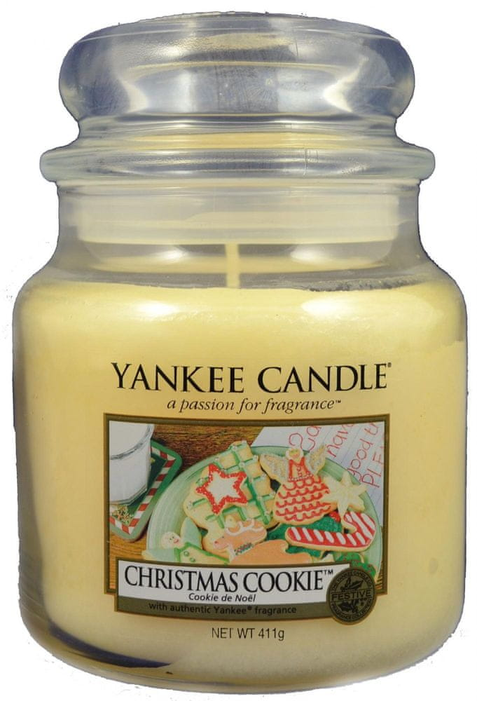 Yankee Candle Classic střední 411 g Christmas Cookie