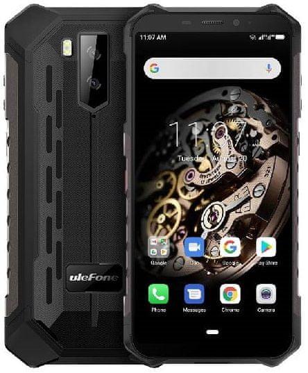 Ulefone Armor X5 DS, 3GB/32GB, černý - zánovní