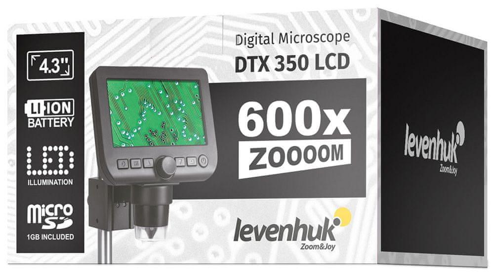 Levenhuk DTX 350 LCD - rozbaleno