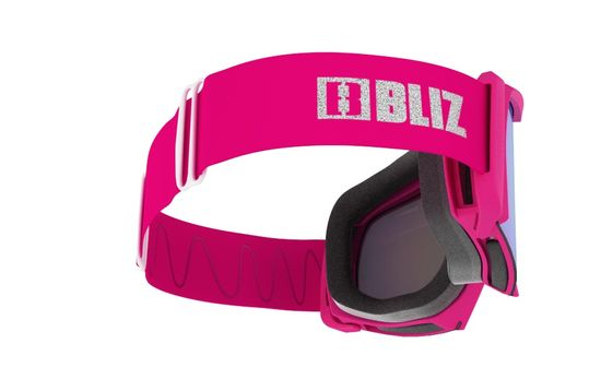 Bliz Nova Matt smučarska očala Pink Brown w Blue Multi Cat.2 - 39168-FH