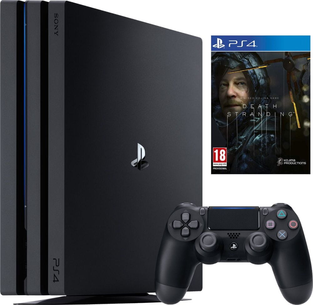 Sony PlayStation 4 Pro - 1TB + Death Stranding (PS719314707)