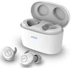 Philips SHB2515 brezžične slušalke, TW, bele