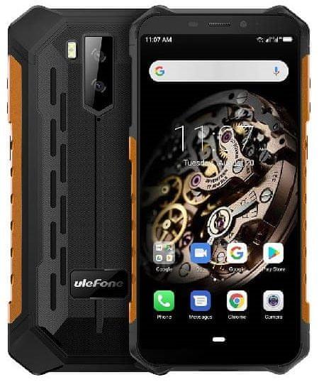 Ulefone Armor X5 DS, 3GB/32GB, černo-oranžový - rozbaleno