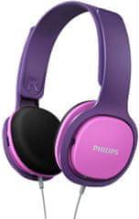 Philips SHK2000 otroške slušalke, roza