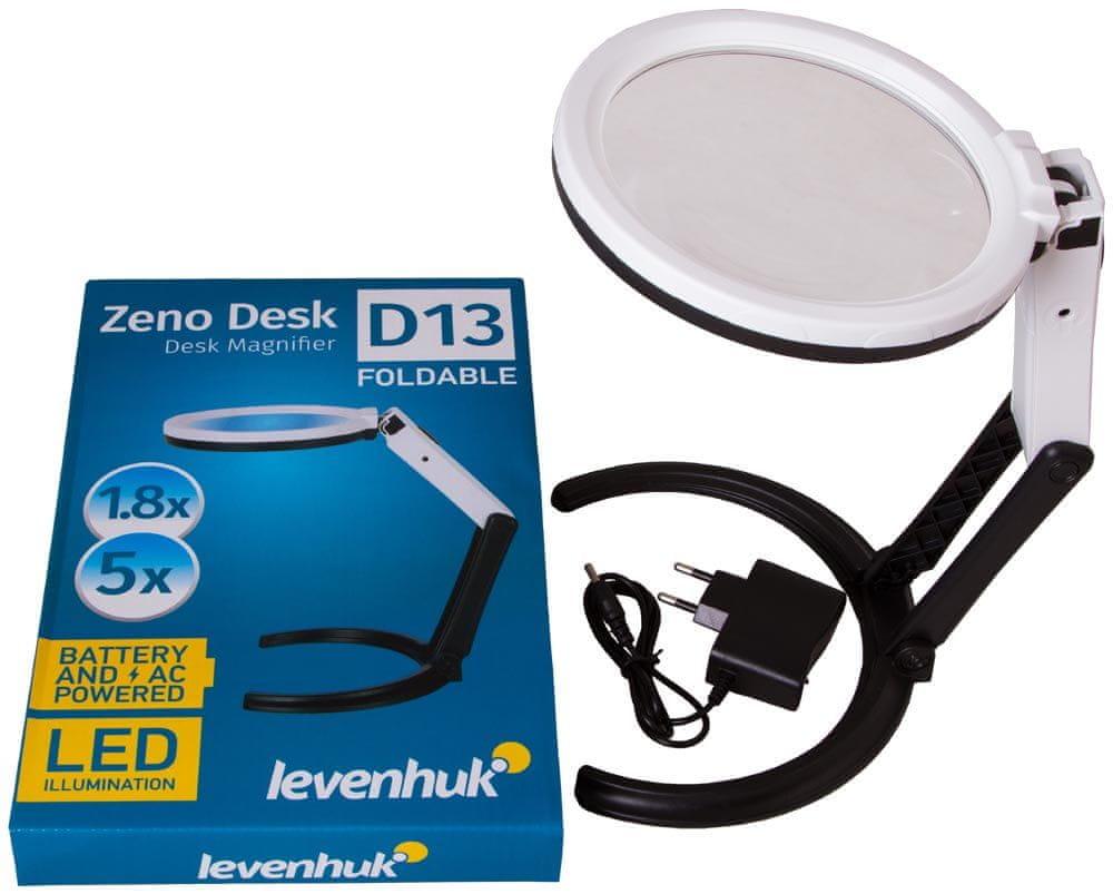 Levenhuk Zeno Desk D13 - zánovní