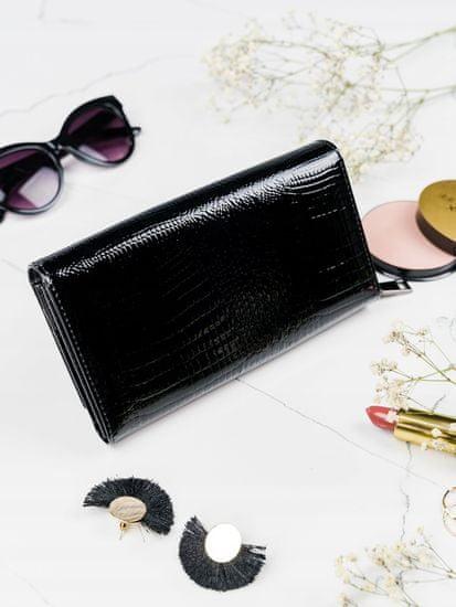 Lorenti Atraktivní kožená peněženka Georgia černá