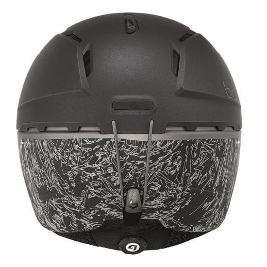 Bollé kask narciarski Millenium Matte Black Flash