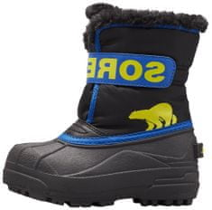 Sorel Childrens Snow Commander otorški škornji, 10, črni