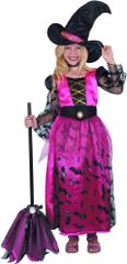 MaDe strój na karnawał - czarownica 134 - 140