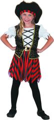 MaDe strój na karnawał - pirat (kobieta) 120 - 130
