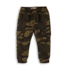 Minoti Scout 12 fantovske hlače, 104 - 110, kaki
