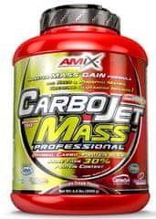 Amix Nutrition CarboJet Mass Professional 3000g jahoda - banán