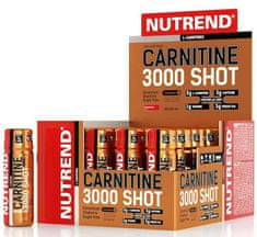Nutrend Carnitine 3000 Shot 60ml jahoda