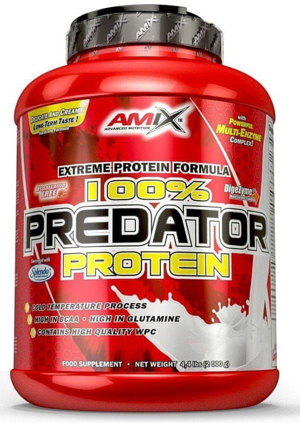 Amix Nutrition 100% Predator 1000 g jahoda